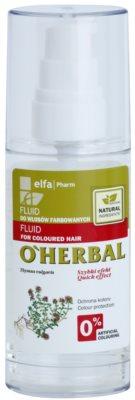 O'Herbal Thymus Vulgaris ochranný fluid pro barvené vlasy