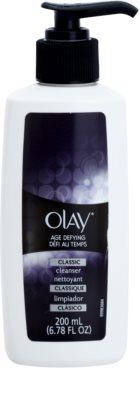 Olay Age Defying leite facial de limpeza