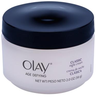 Olay Age Defying crema de noche para todo tipo de pieles