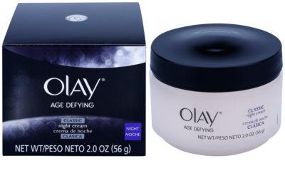 Olay Age Defying crema de noche para todo tipo de pieles 2
