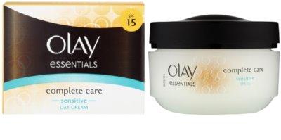Olay Essentials Complete Care crema de zi pentru piele sensibila 1