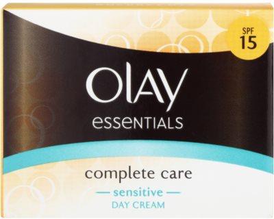 Olay Essentials Complete Care crema de zi pentru piele sensibila 2