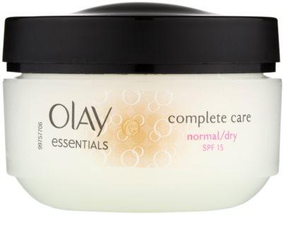 Olay Essentials Complete Care crema de zi pentru piele normala si uscata