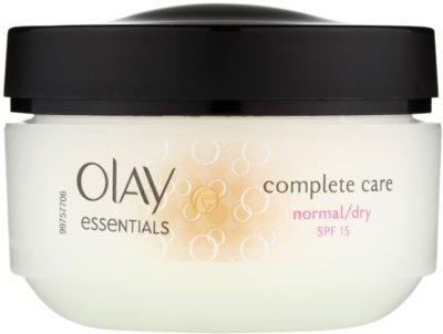 Olay Essentials Complete Care денний крем для нормальної та сухої шкіри