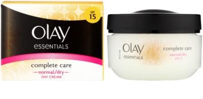 Olay Essentials Complete Care creme de dia para pele normal e seca 1