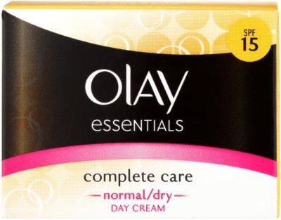 Olay Essentials Complete Care creme de dia para pele normal e seca 2