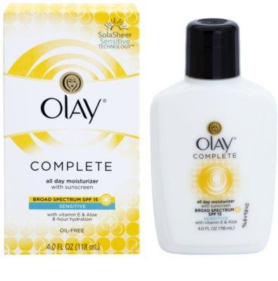 Olay Complete crema de día hidratante  para pieles sensibles 1