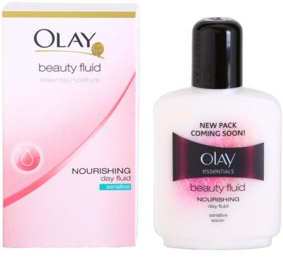 Olay Essential - Moisture овлажняващ флуид за чувствителна кожа на лицето 1