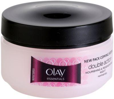 Olay Essential - Moisture нічний зволожуючий крем для нормальної та сухої шкіри