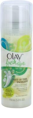 Olay Fresh Effects hámlasztó bőrradír az aknéra hajlamos zsíros bőrre