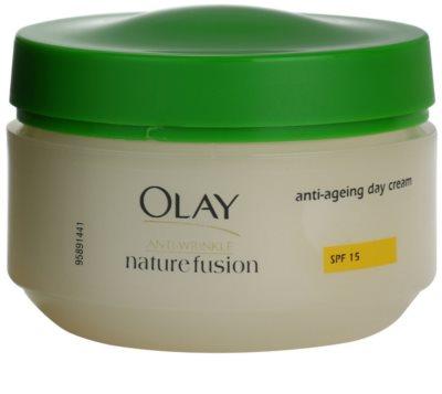 Olay Anti-Wrinkle Nature Fusion денний крем проти зморшок SPF 15