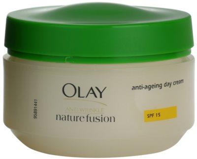 Olay Anti-Wrinkle Nature Fusion creme de dia antirrugas SPF 15