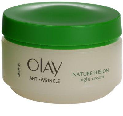 Olay Anti-Wrinkle Nature Fusion crema de noapte cu efect de intinerire fermitatea fetei si gatului