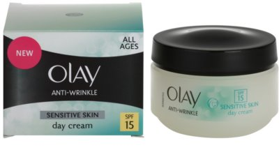 Olay Anti-Wrinkle Sensitive Skin crema de día antienvejecimiento 2