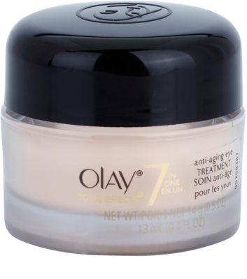 Olay Total Effects crema para contorno de ojos antiarrugas