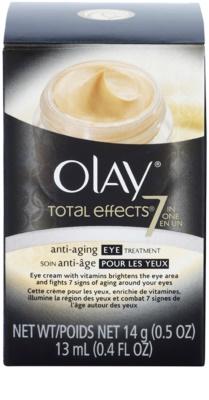Olay Total Effects околоочен крем против бръчки 3