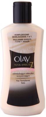 Olay Total Effects lapte pentru curatare cu  efect de intinerire