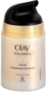 Olay Total Effects CC creme antirrugas