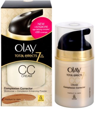 Olay Total Effects crema CC antiarrugas 2