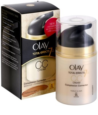 Olay Total Effects crema CC antiarrugas 3