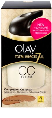 Olay Total Effects crema CC antiarrugas 4