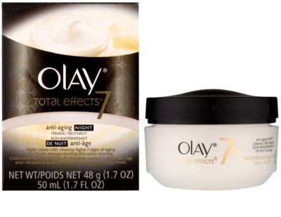 Olay Total Effects crema de noche antiarrugas 1