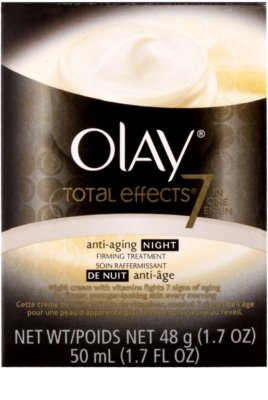Olay Total Effects crema de noche antiarrugas 2