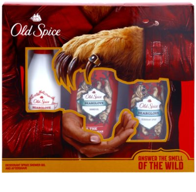 Old Spice Bearglove lote de regalo