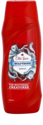 Old Spice Wolfthorn gel de dus pentru barbati