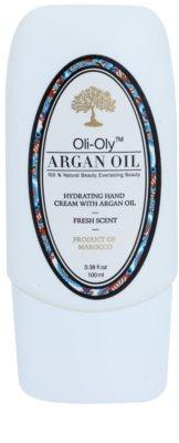 Oli-Oly Argan Oil feuchtigkeitsspendende Creme für die Hände