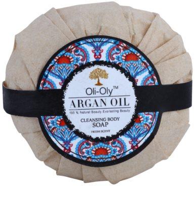 Oli-Oly Argan Oil очищуюче мило для тіла