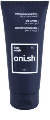 oni.sh Daily Care Gel facial de curatare cu efect antirid