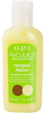 OPI Avojuice feutigkeitsspendende Milch für Hände und Körper