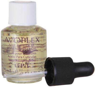 OPI Avoplex nährendes Öl für die Nägel mit einer Pipette