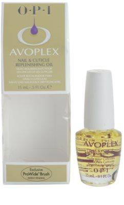 OPI Avoplex óleo nutritivo  para unhas 2