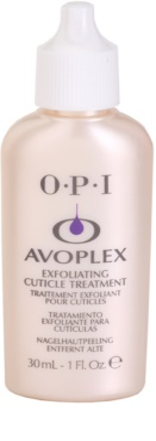 OPI Avoplex quitacutículas líquido alrededor de las uñas