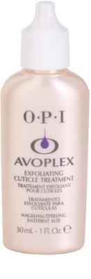 OPI Avoplex removedor de cutícula líquido ao redor da unha