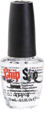 OPI Chip Skip proteção da unha natural antes de aplicar o verniz