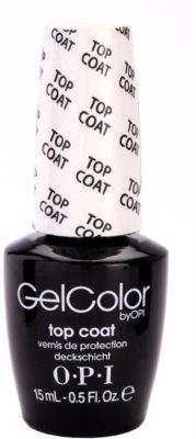 OPI Gelcolor vrchní lak na gelové nehty