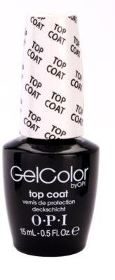 OPI Gelcolor закріплювач для гелевих нігтів
