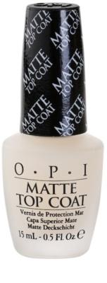 OPI Matte Top Coat матов лак за нокти