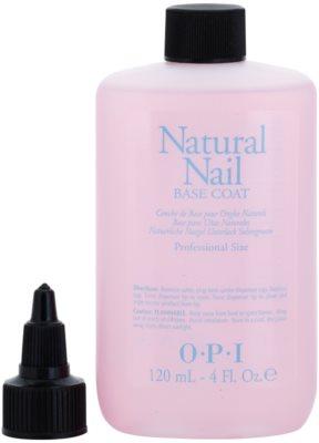 OPI Natural Nail Base Coat base liquida subjacente para unhas