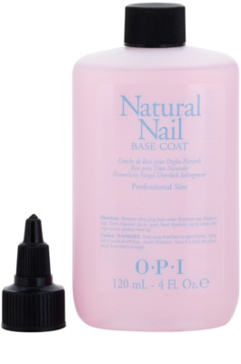 OPI Natural Nail Base Coat течна основа под грим за нокти