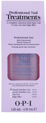 OPI Natural Nail Base Coat течна основа под грим за нокти 1