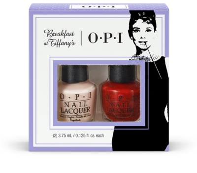 OPI Breakfast at Tiffany´s Party Petites set cosmetice II.