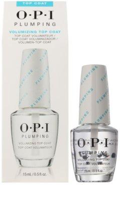 OPI Plumping vrchní lak na nehty s gelovým efektem 1
