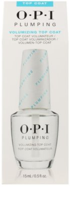 OPI Plumping vrchní lak na nehty s gelovým efektem 2