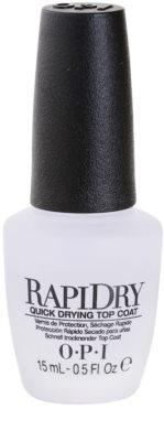 OPI Rapidry verniz superior de secagem rápida para unhas