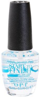 OPI Start To Finish prebase y esmalte de uñas de acabado 2 en 1