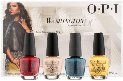 OPI Washington DC Kosmetik-Set  I.